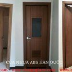 Giá cửa nhựa giả gỗ – Cửa nhựa ABS Hàn Quốc