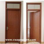 Cửa nhựa giả gỗ Đài Loan-Cửa nhựa nhà vệ sinh giả gỗ