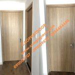 Cửa nhựa composite giả gỗ – Giá cửa nhựa phòng ngủ