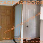 Các loại cửa gỗ công nghiệp? Giá cửa phòng ngủ